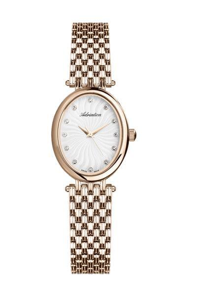 Owalna tarcza zegarka Adriatica
