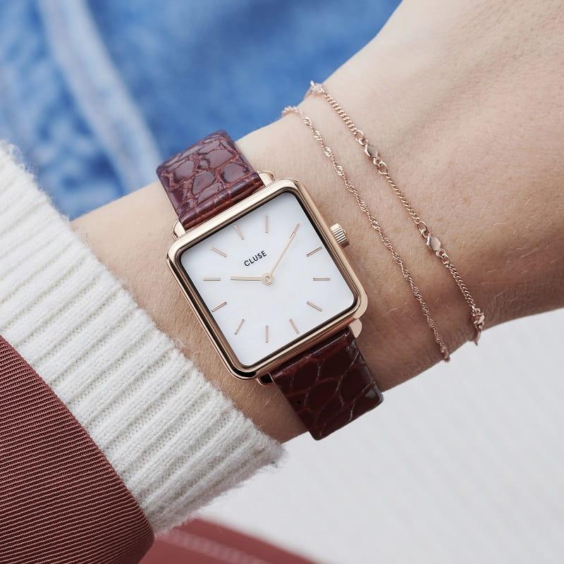 Tarcza zegarka Cluse Tetragone