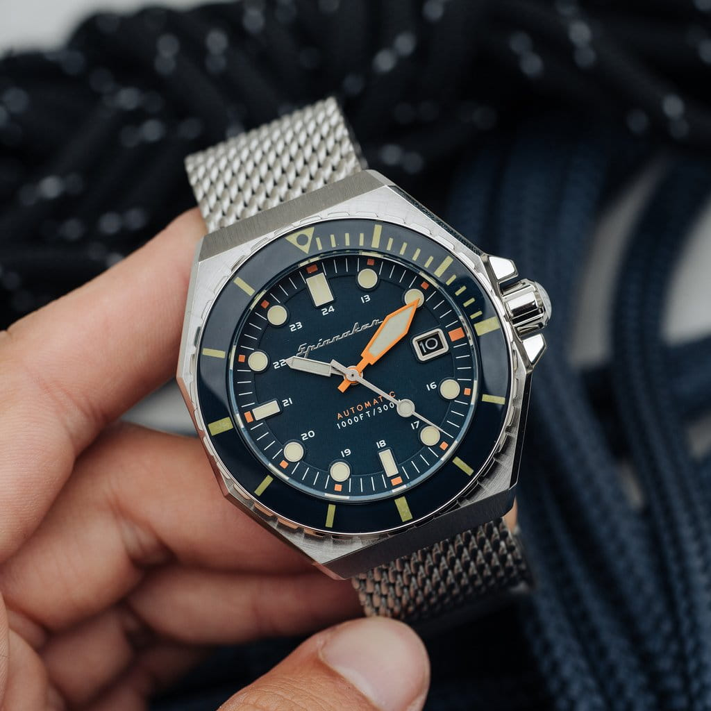 Tarcza zegarka Spinnaker Dumas