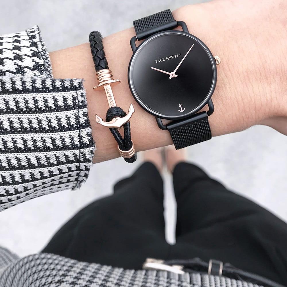 Okrągła tarcza zegarka