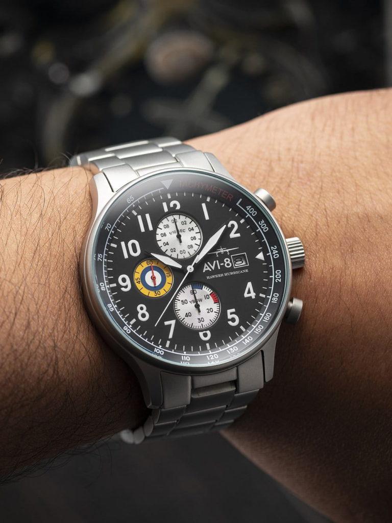 tarcza zegarka Avi-8