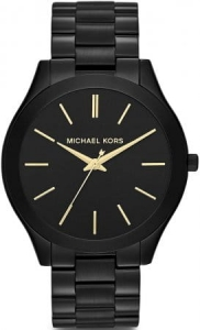 Zegarek MICHAEL KORS Slim Runway Black Stainless Steel MK3221