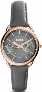 Zegarek FOSSIL Tailor Multifunction Gray Leather ES3913