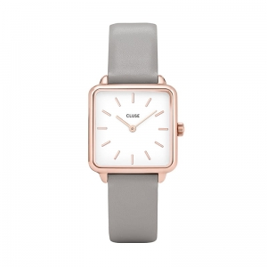 Zegarek CLUSE La Tétragone Rose Gold White/Grey CL60005