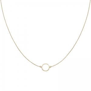 Naszyjnik Essentielle Gold Open Circle Choker CLJ21002
