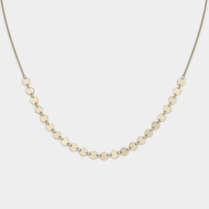 Naszyjnik Essentielle Gold All Hexagons Choker CLJ21003