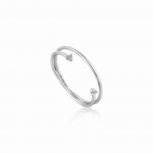 Pierścionek ANIA HAIE Shimmer Double Ring R003-04H-54