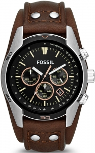 Zegarek FOSSIL Coachman Chronograph Brown Leather CH2891
