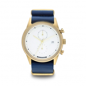 Zegarek HyperGrand Maverick Chrono Nautical Blue Leather