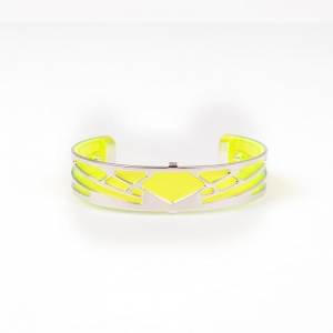 Bransoletka LES GEORGETTES Ibiza Dayglo Yellow 14mm 7029599/1600000