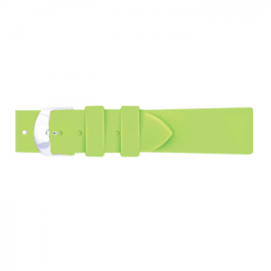 Pasek PIERO MAGLI  Rubber Light Green/Silver