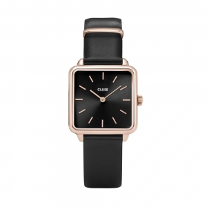 Zegarek CLUSE La Tétragone Rose Gold Black CL60007