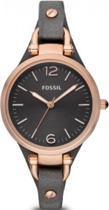 Zegarek FOSSIL Georgia Smoke Leather ES3077