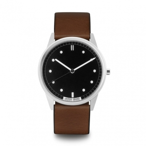 Zegarek HyperGrand Black Classic Brown Leather