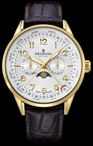 Zegarek DELBANA Retro Moonphase 42601.646.6.064