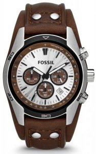 Zegarek FOSSIL Coachman Chronograph Brown Leather CH2565