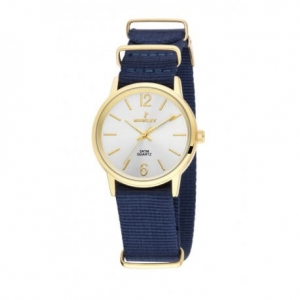 Zegarek NOWLEY Nato Strap Navy Blue Gold/White 8-5541-0-4