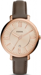 Zegarek FOSSIL Jacqueline Brown Leather ES3707