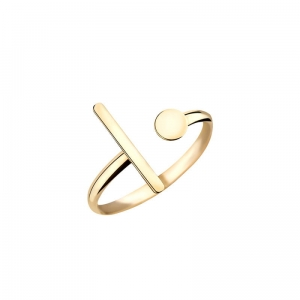 Pierścionek Infinity Cross Ring BTPZ6008