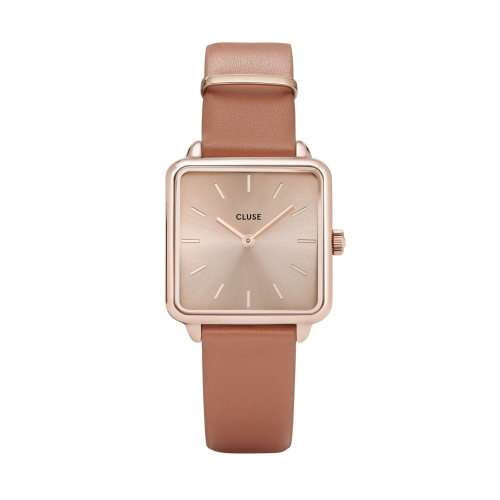 Zegarek CLUSE La Tétragone Rose Gold/Butterscotch CL60010